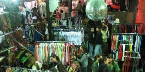 Feria plaza Serrano