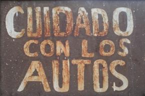 Cuidado con los autos