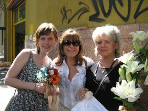 Met Engelien en Laura