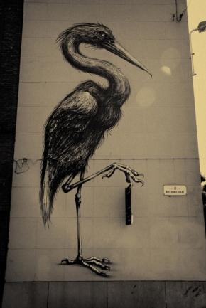 ROA, Bastionstraat, Gent