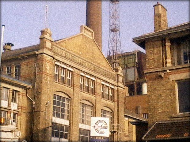 Oude fabriekspanden