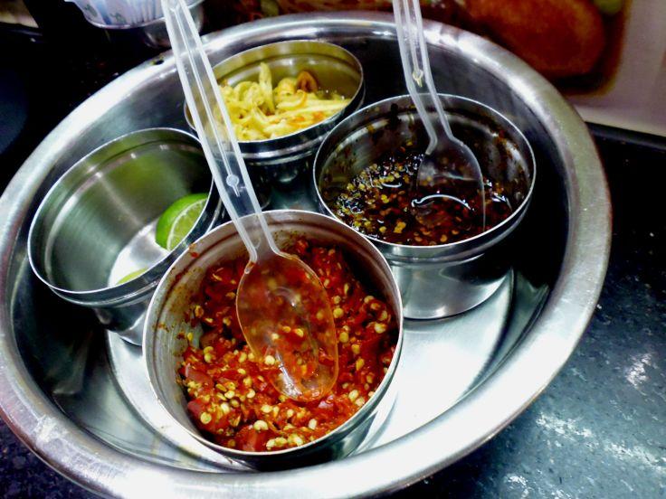 vietnamees eten kruiden