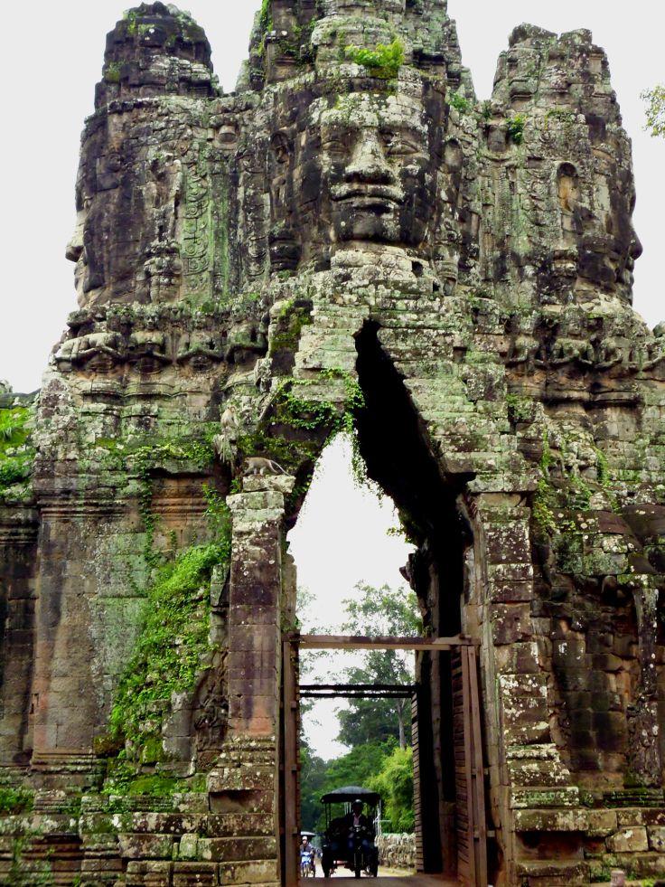 Poort naar angkor thom