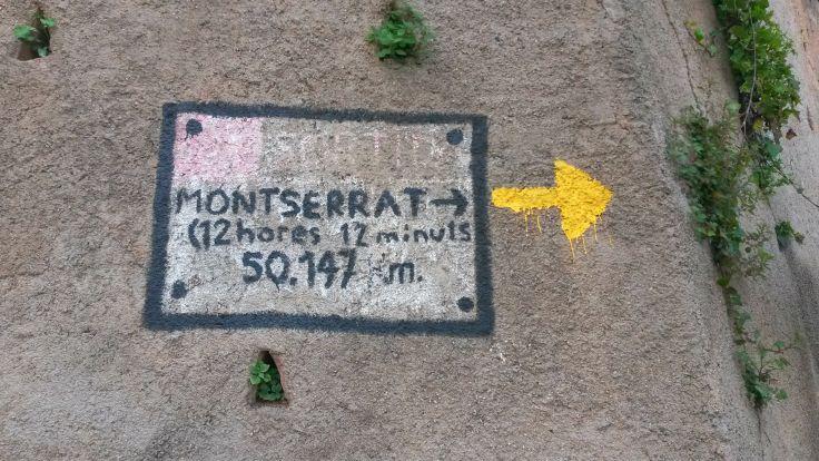 Barcelona Montserrat startpunt